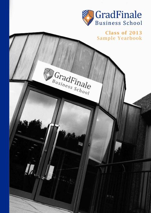 Business School Sample Yearbook