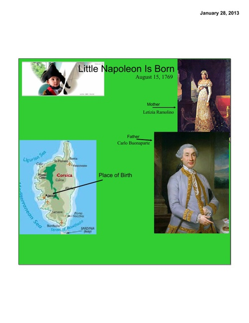 Napoleon Scrapbook Ryan Beall