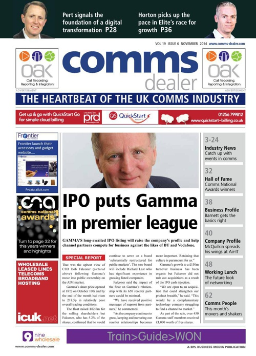 Comms dealer - November issue 1