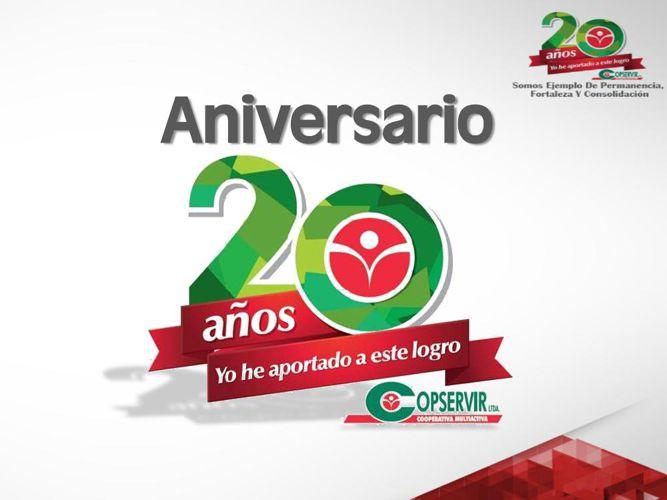 20 años Copservir