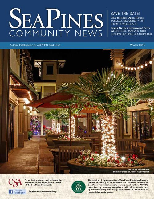 Sea Pines Winter 2015 Newsletter