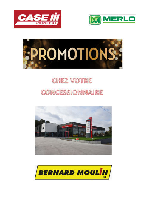 Bernard Moulin - Promotions