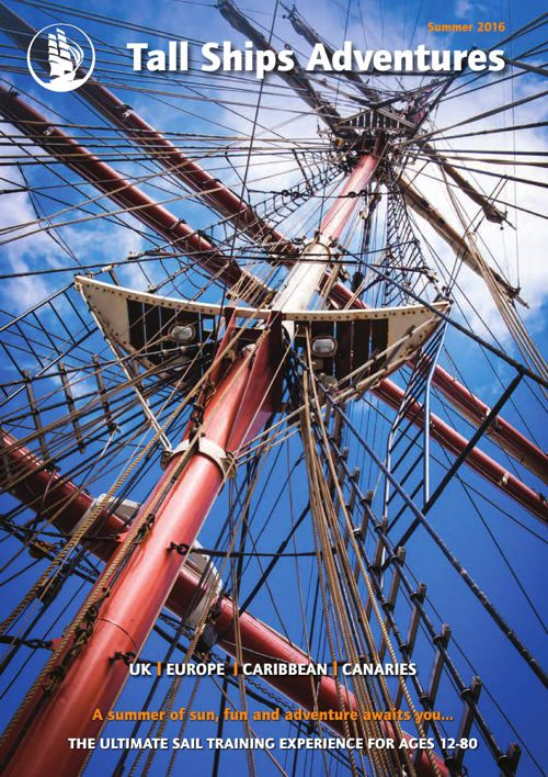 Tall Ship Adventures Summer 2016