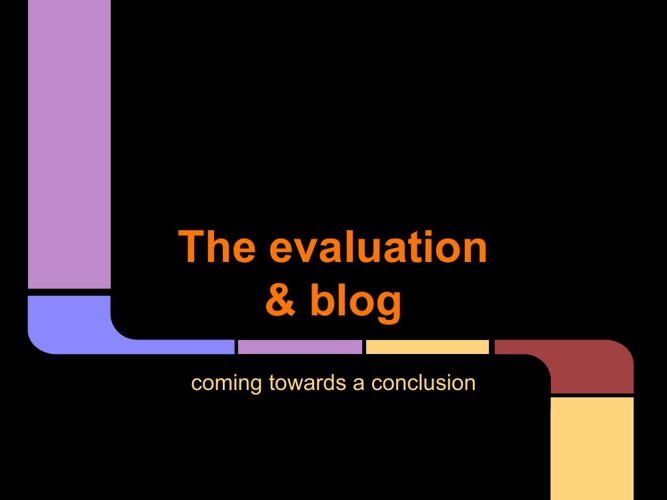 The Evaluation & Blog