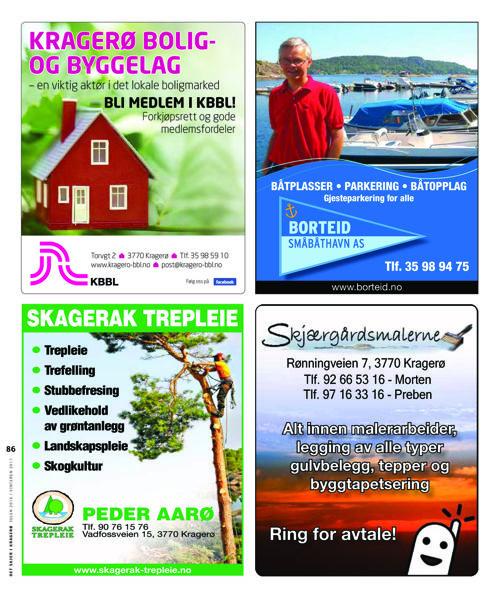 Det skjer i Kragerø julen 2016/ vinteren 2017