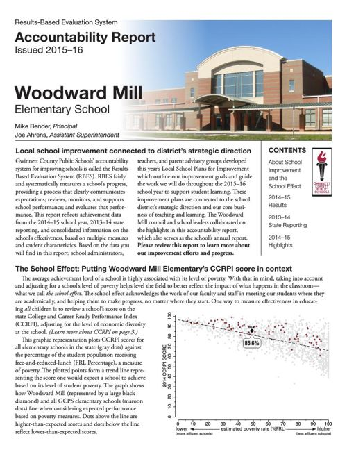 2014-15 Woodward Mill ES SAR FINAL
