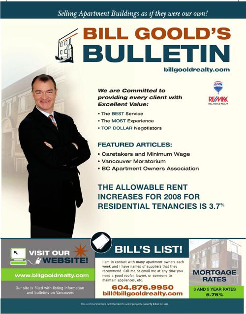 Bill Goold Newsletter Jan 2007