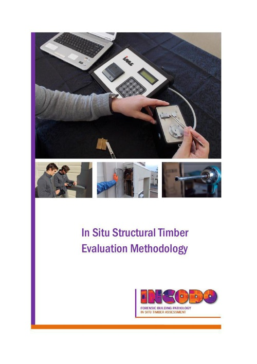 In Situ Structural Timber Evaluation Methodology
