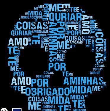 Mosaico de palavras - Homenagem do 4º ano E