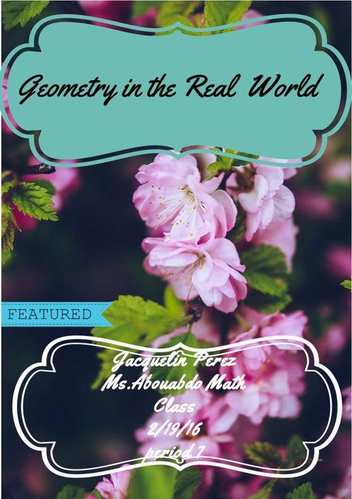 Jacquelin Geometry Vocabulary