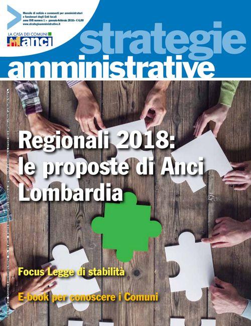 Strategie Amministrative - Gennaio Febbraio 2018