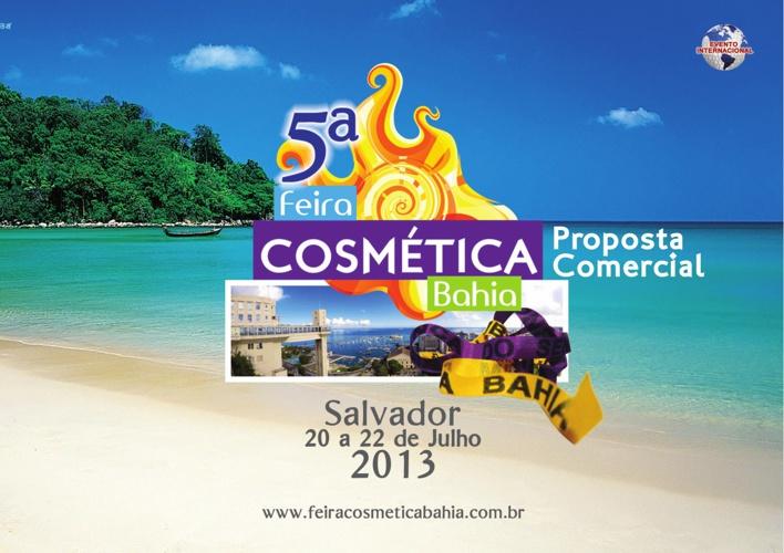 5ª Feira Cosmética Bahia - Projeto Virtual