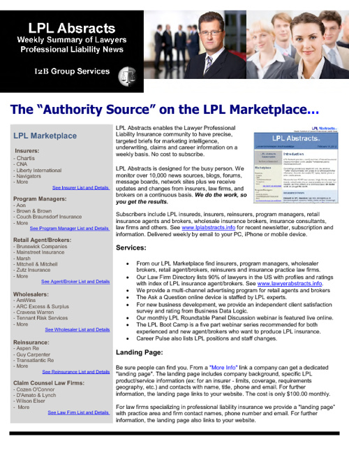 LPL Abstracts