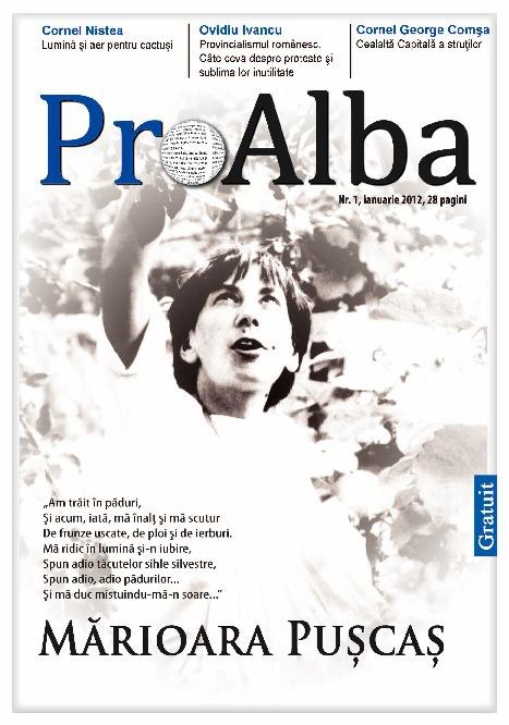 Revista ProAlba ianuarie