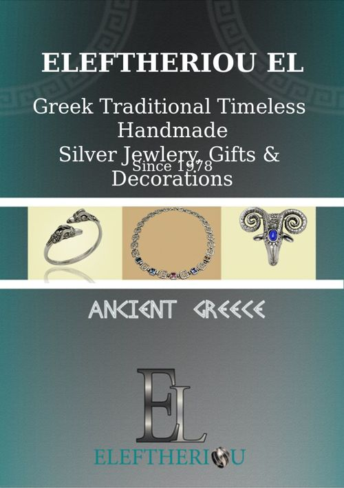 ELEFTHERIOU EL| Ancient Greek Silver Jewelry Collection 2015