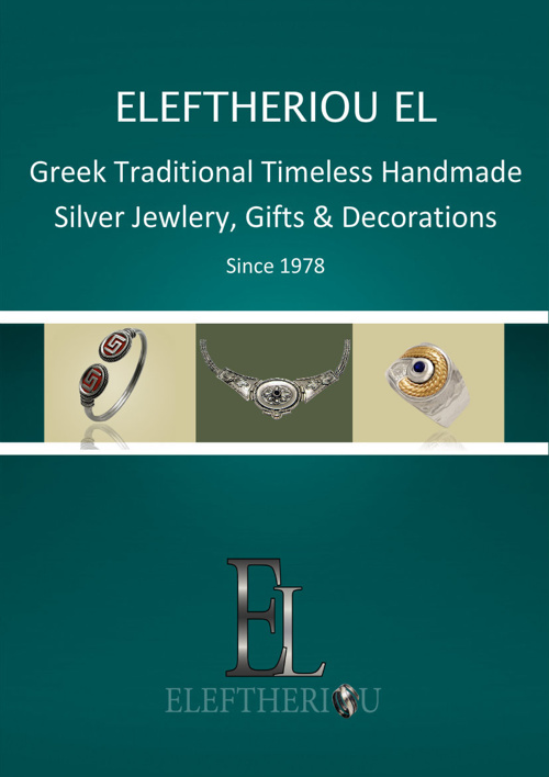 ELEFTHERIOU EL|Silver Jewelry, Gifts & Decorations 2015