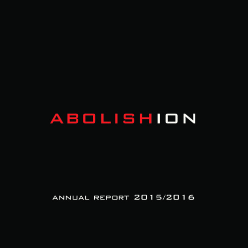 Abolishion 2015/2016 Annual Report