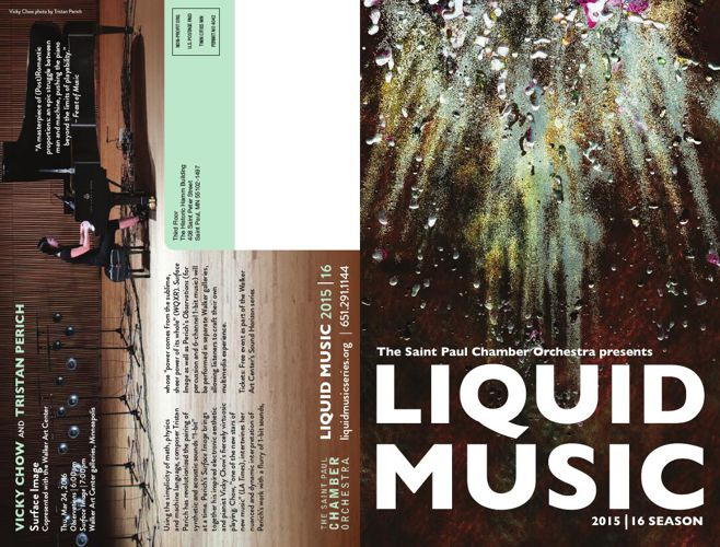 Liquid Music 2015.16 season Brochure