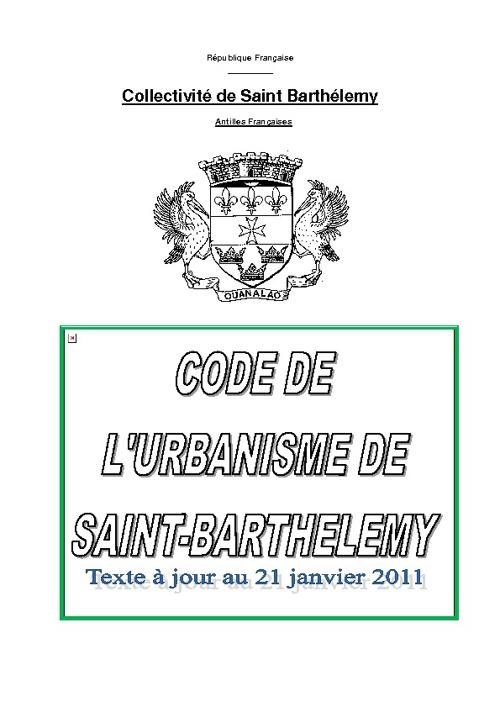 Code Urbanisme