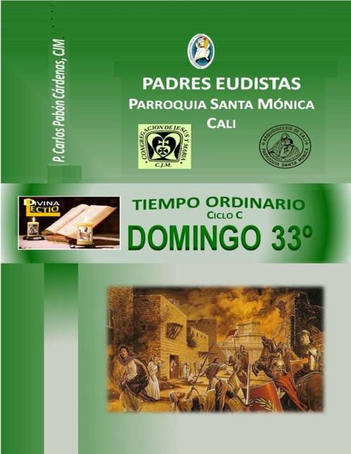 DOMINGO 33º T.O CICLO  C
