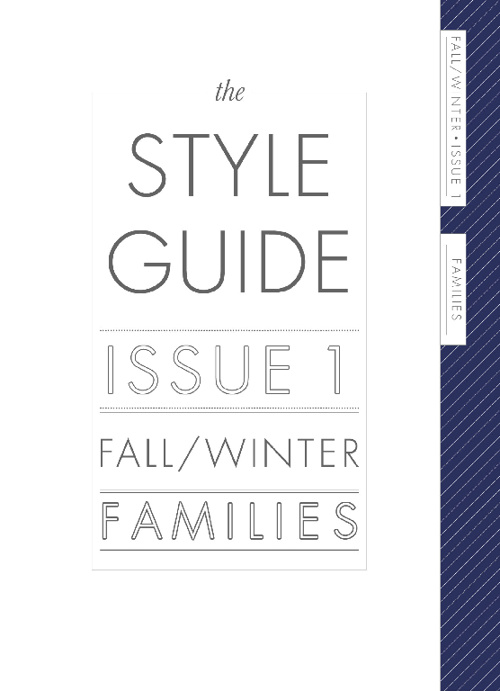 Fall /Winter Family Style Guide