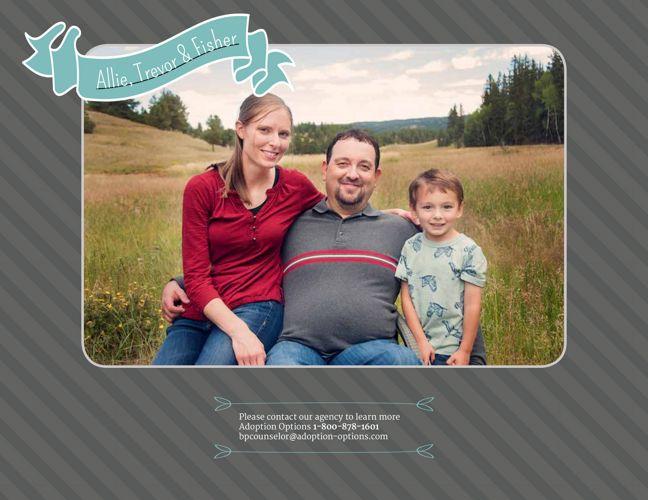 Allie and Trevor's Adoptive Family Profile