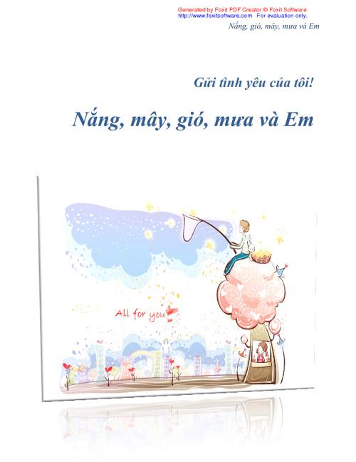 Nắng, mây, gió, mưa và Em - Trương Hoàng