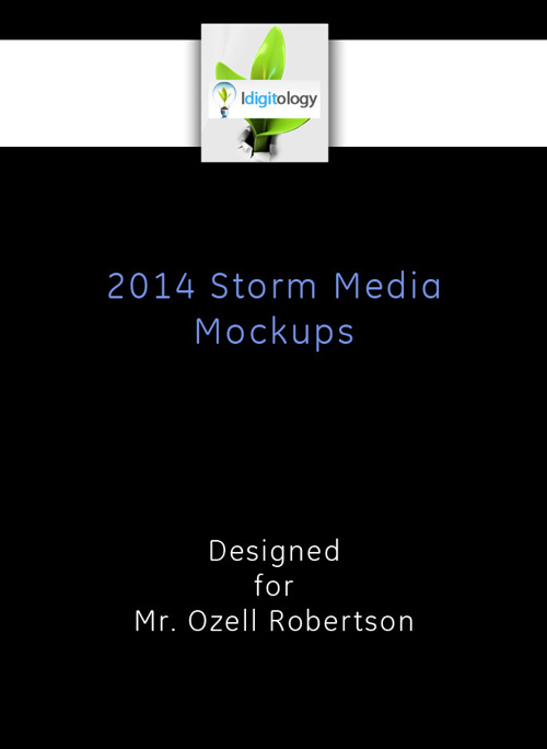 Welcome to your Storm Media Mockup