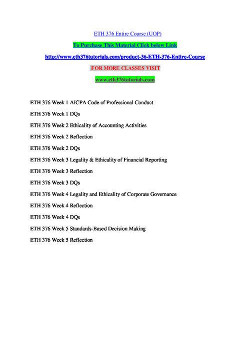 ETH 376 TUTORIALS Learn by Doing / eth376tutorials.com