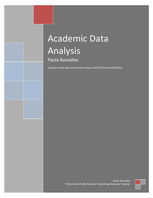 Data Analysis Academic