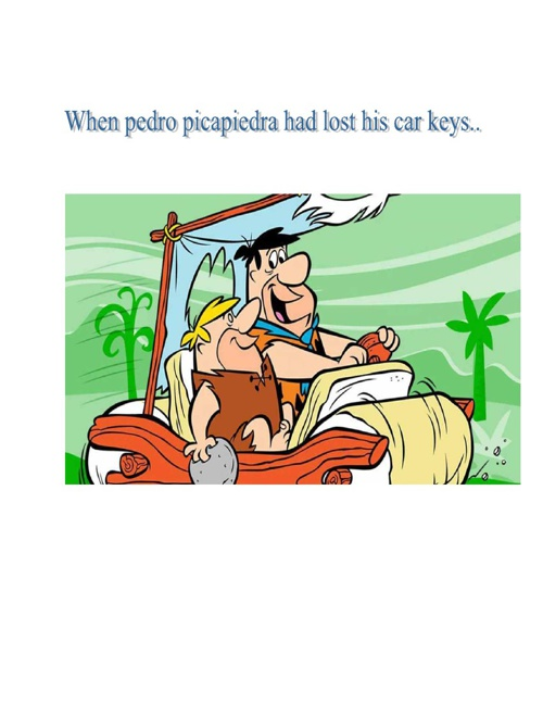 Pedro picapiedra Cartoons