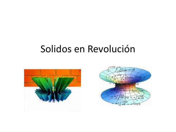 Solidos en Revolución