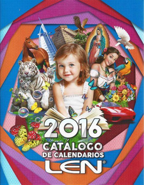 Catálogo Digital de Calendario LEN 2016