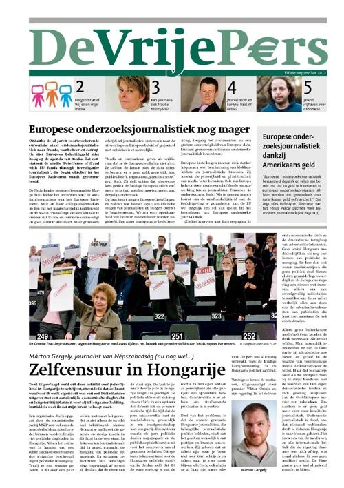 Persvrijheid geheel NL