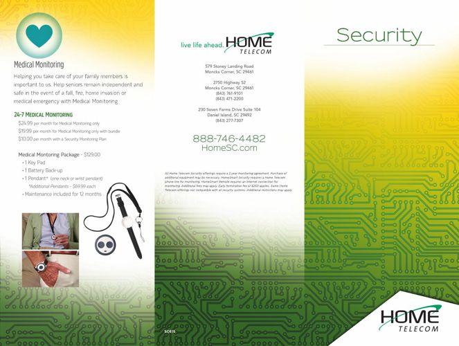 Security Brochure press