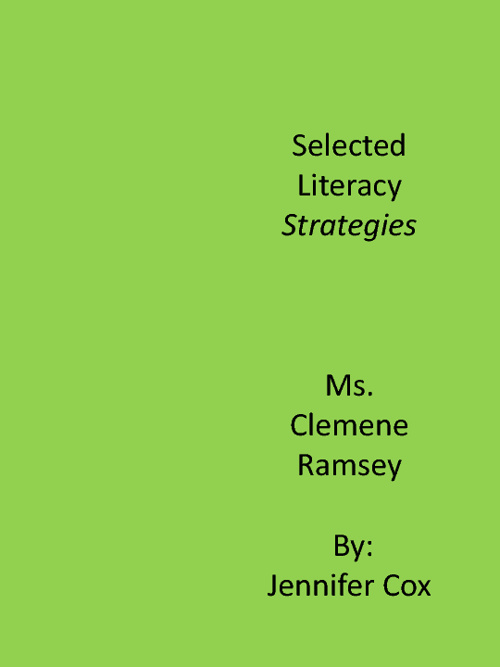 Selected Literacy Strategies