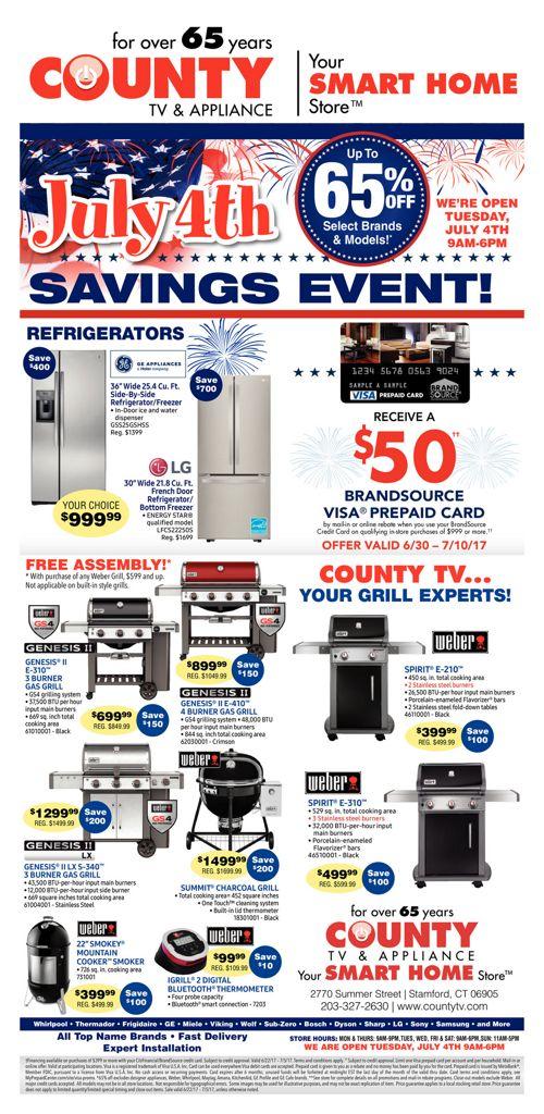 July 4th Savings Event!