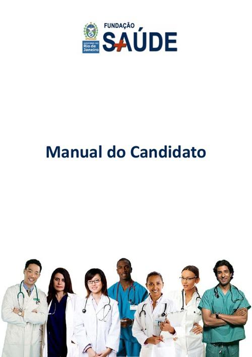 Manual do Candidato Fundação Saúde