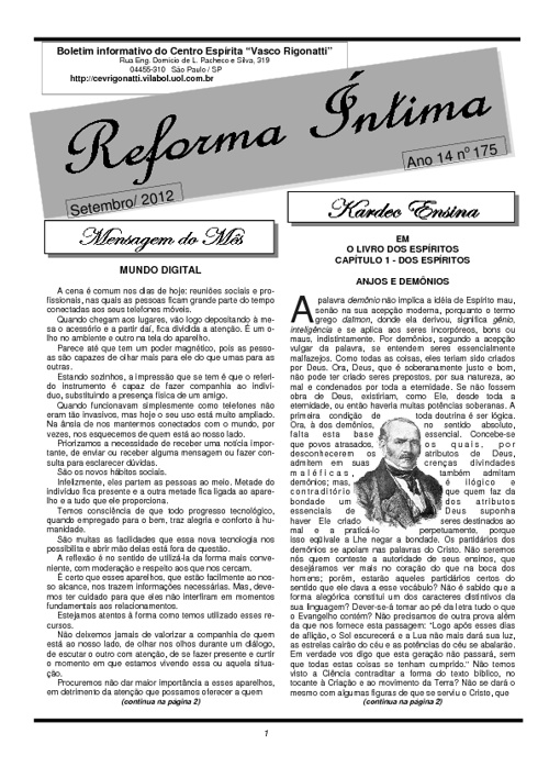 Reforma Íntima 175