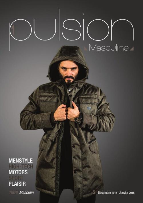 1pulsion masculine # 5 // Décembre 2014 - Janvier 2015