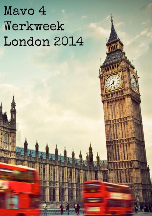 Boekje werkweek London