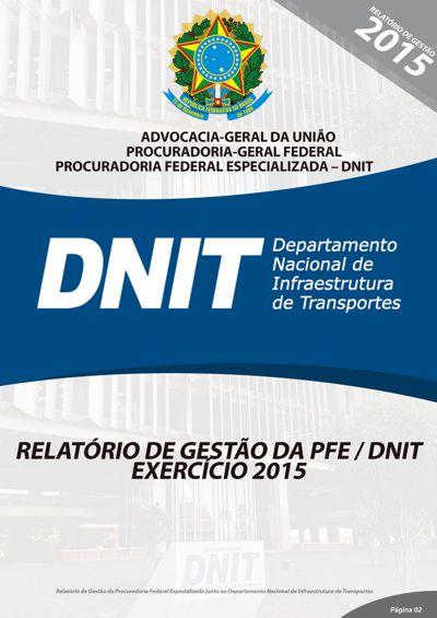 Relatório DNIT