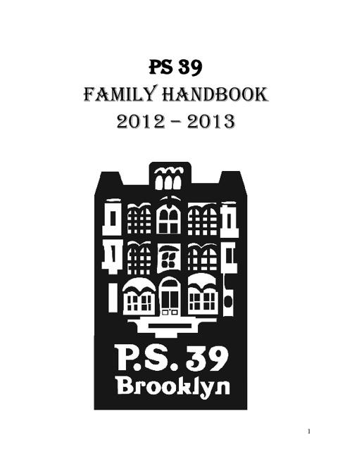 PS 39 Family Handbook