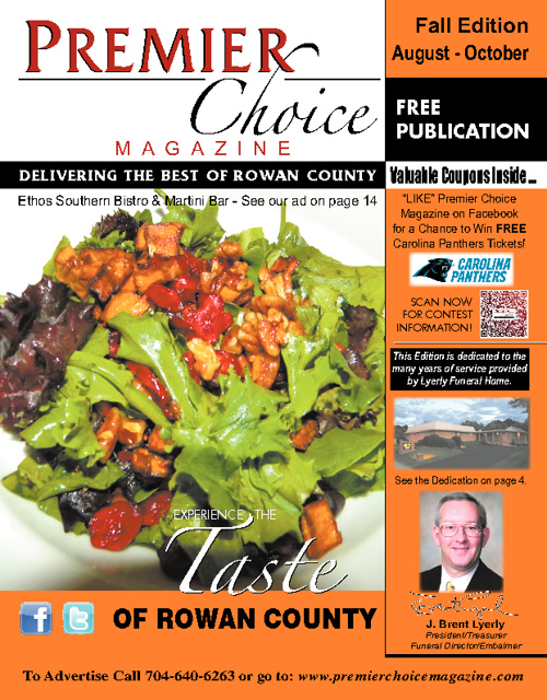 Premier Choice Magazine Fall Edition