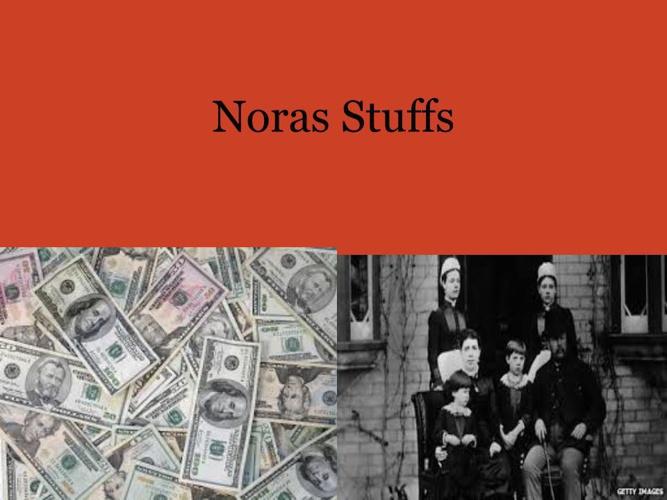 Nora stuffs