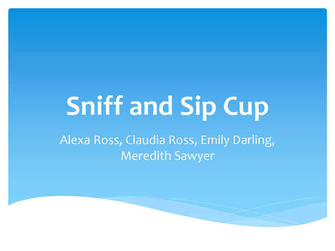 Sniff and Sip FInal