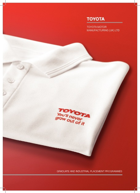 Toyota Graduate Brochure