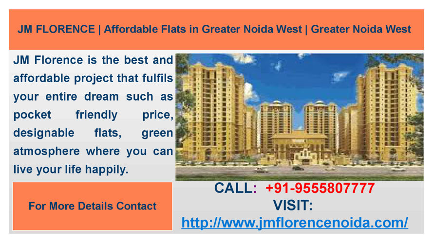 JM Florence Luxurious Apartments in Greater Noida West