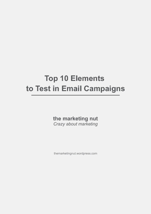 Top 10 Elements for Email Testing