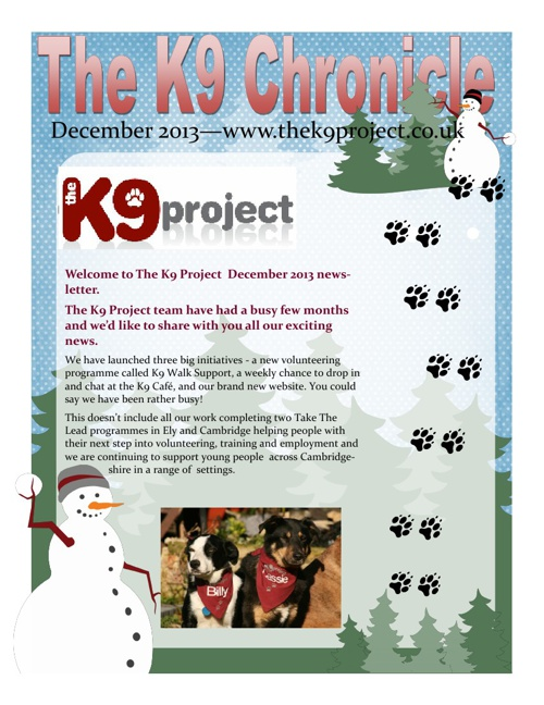 K9 Chronicle December 2013